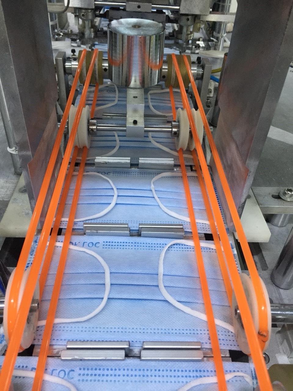 The conveyor is transferred through brazing
